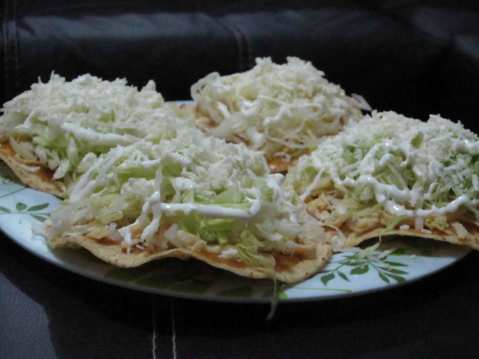 La Gringa Cocina: Tostadas: the 7-layer Chip