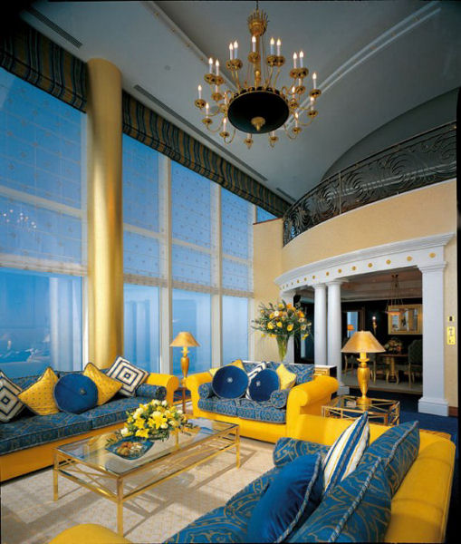 Hotel chat for Dubai hotels 7 star interior