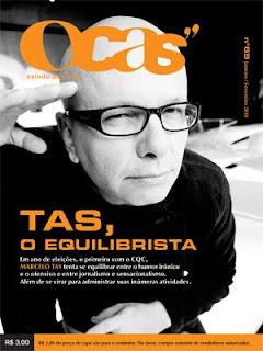 Bar Saci esta na Revista OCAS 69 Janeiro/Fevereiro de 2010