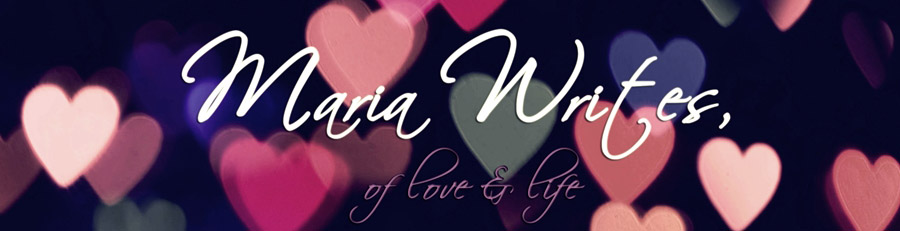 maria writes,
