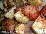 Seasoned Oven Browned Potatoes