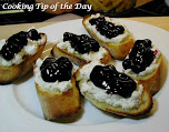 Breakfast Bruschetta with Mascarpone & Blueberries