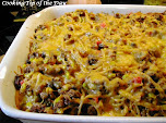 Baked Spaghetti - Fiesta Style
