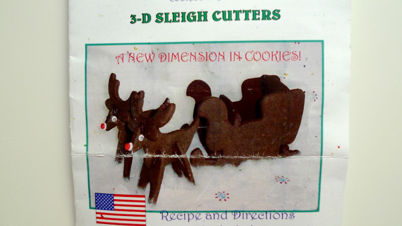 Bon Appetempt Geeking Out With 3 D Reindeer Sleigh Cookies