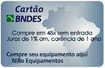 Aceitamos seu cartão BNDES, boas compras
