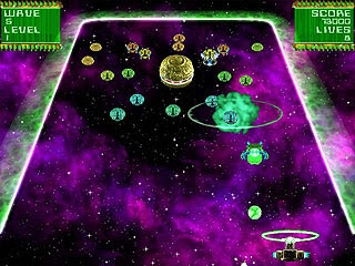 Invasion Waves: an update of arcade classics Super Breakout and Arkanoid