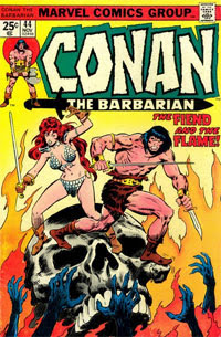 Image of Conan the Barbarian comic - (c) Marvel.