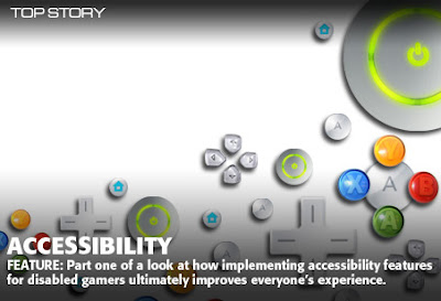Accessibility Feature: Part one of a look at how implementing accessibility features for disabled gamers ultimately improves everyone's experience.