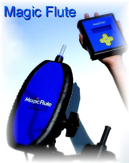 Magic Flute mouth fully mouth controlled instrument.