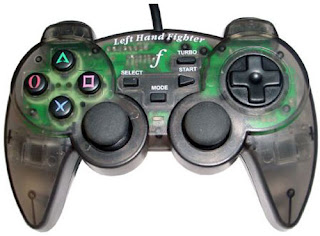 Left Hand Fighter left hand Playstation 2 JoyPad by Farmer.