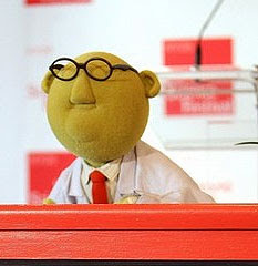 Image of Bunsen Honeydew - Muppet show scientist.