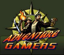 Adventure Gamers logo - two intrepid explorers within a compass.