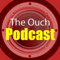 Ouch Podcast logo.