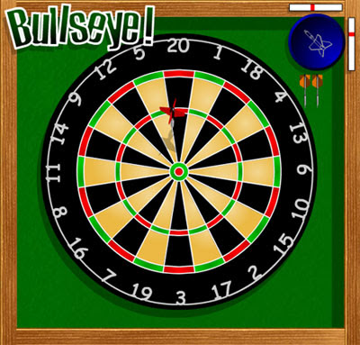 Image of a Dartsboard.