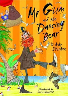 Image of the book cover to Mr Gum and the Dancing Bear.