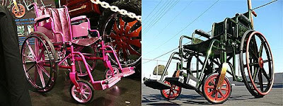 Customised (Pimped) Wheelchairs.