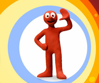 Morph waves goodbye to his creator - Tony Hart.