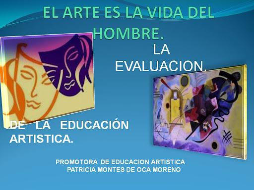 EVALUACION DE LAS ARTES