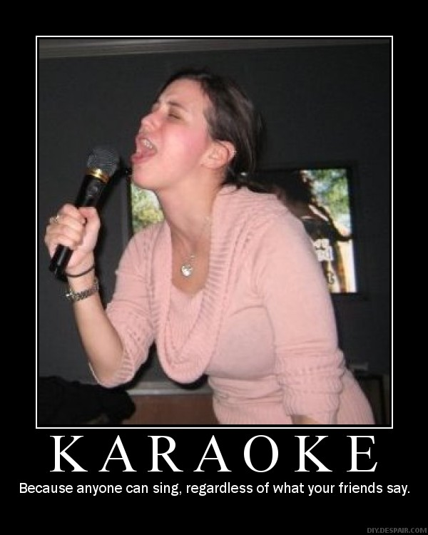 Funny karaoke pictures