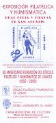 PROGRAMAS EXPOSICIONES DEL CÍRCULO FILATÉLICO Y NUMISMÁTICO DE LINARES