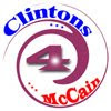 Clintons for McCain