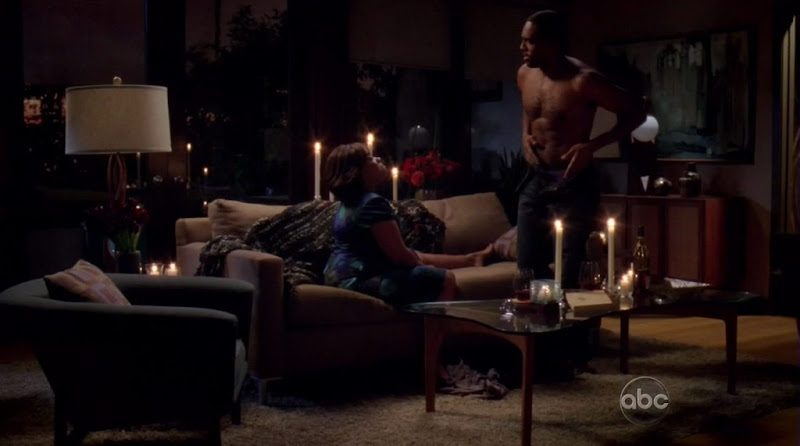 Jason Winston George Shirtless on Grey's Anatomy s6e22