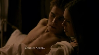Paul Wesley Shirtless on The Vampire Diaries s1e13