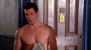 Eric Mabius Shirtless on Ugly Betty s4e15