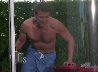 Travis Stork Shirtless on The Doctors 20100312