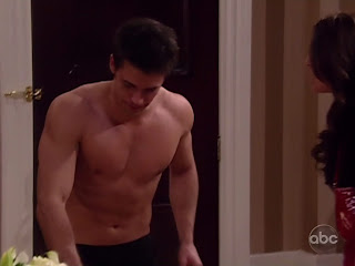 David Gregory Shirtless on One Life to Live 20100421