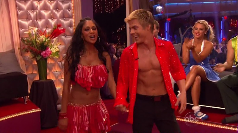 Derek Hough Shirtless on Dancing with the Stars s10 week 6