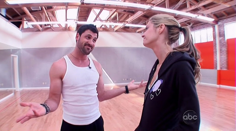 Maksim Chmerkovskiy Shirtless on Dancing with the Stars s10 week  6