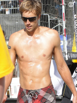 Will Strickland Shirtless at San Francisco Open 2009