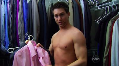 Jonathan Novak Shirtless on the Bachelorette s6e01
