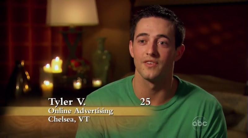 Tyler Vermette Shirtless on the Bachelorette s6e01