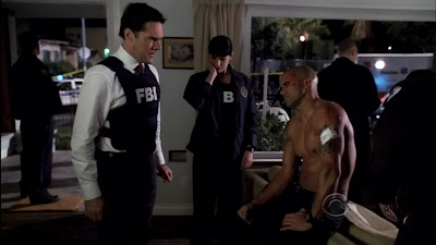 Shemar Moore Shirtless on Criminal Minds