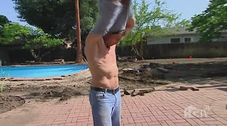 Dan Vickery Shirtless on HGTV Design Star