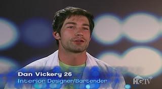 Dan Vickery Shirtless on HGTV Design Star