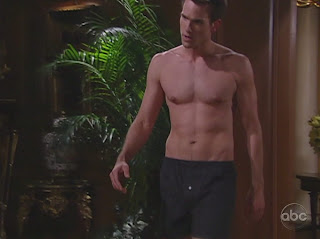 Adam Mayfield Shirtless on All My Children