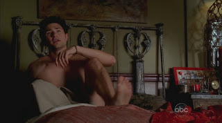Matt Dallas Shirtless on Eastwick