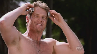 Brian Van Holt Shirtless on Cougar Town