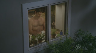 David Clayton Rogers Shirtless on Cougar Town