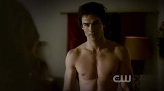 Ian Somerhalder Shirtless on Vampire Diaries