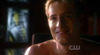Justin Hartley Shirtless on Smallville s9e06
