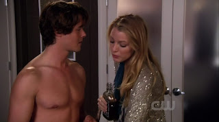 Simon Miller Shirtless on Gossip Girl s3e08