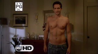 Josh Hopkins Shirtless on Cougar Town s1e07