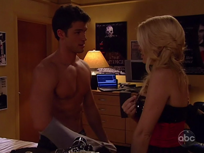 David A. Gregory Shirtless on One Life to Live 20100521