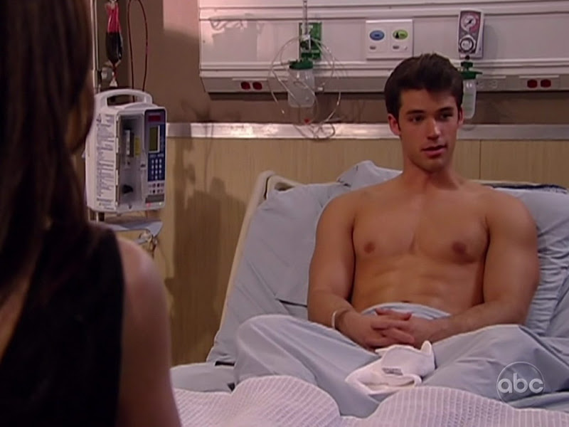 David A. Gregory Shirtless on One Life to Live 20100623