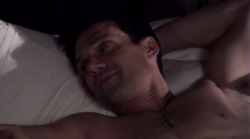 Frank Grillo Shirtless on The Gates s1e04