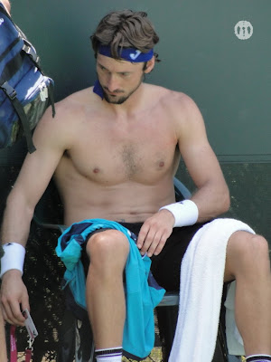 Juan Carlos Ferrero Shirtless at Miami 2010